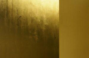 Vergoldung Detail