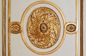 Vergoldung Ornament