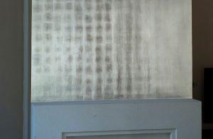 Versilberung Wandfläche