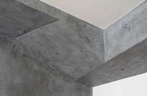 Betonstrukturen zur Wandgestaltung